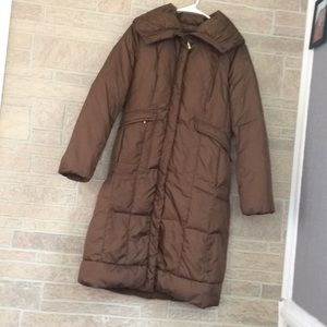 Cole Haan puffer coat down the knee size XS